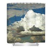 Daunting Sky Shower Curtain