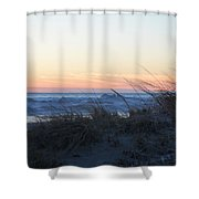 Day's Over Shower Curtain