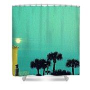 Daytona Bike Week Shower Curtain