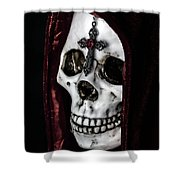 Dead Knight Shower Curtain