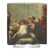 Death Of Cleopatra Shower Curtain