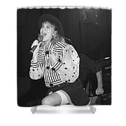Debbie Gibson Shower Curtain