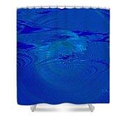 Deep Sea Shower Curtain by Thomas Bryant