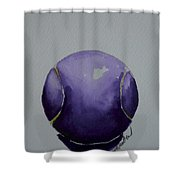 Deep Violet Shower Curtain