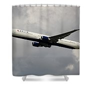 Delta Airlines B-767-400 Shower Curtain
