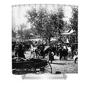 Denver: Healer, 1895 Shower Curtain