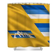 Denver Nuggets Uniform Shower Curtain