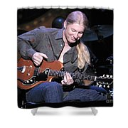 Guitarist Derek Trucks Shower Curtain