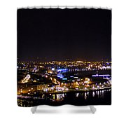 Derry At Night Shower Curtain