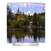 Deschutes River - Oregon Shower Curtain