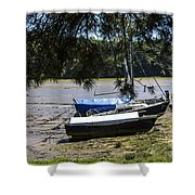 Deveron River Shower Curtain