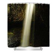 Devil Creek Falls Shower Curtain