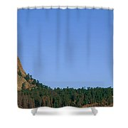 Devils Tower National Monument, Wyoming Shower Curtain