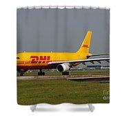 Dhl Airbus A300 Shower Curtain
