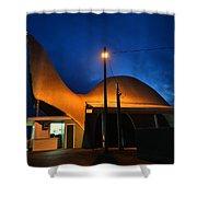 Dino Night Shower Curtain