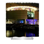 Discovery World Milwaukee Wisconsin Shower Curtain
