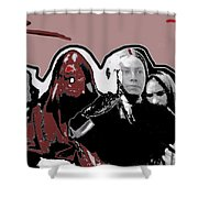 Distraught Woman Mexico City C.1914-2014 Shower Curtain