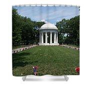 District Of Columbia War Memorial Shower Curtain