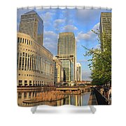 Docklands London Shower Curtain