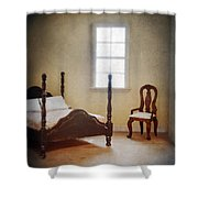 Dollhouse Bedroom Shower Curtain