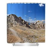 Dolomites - Costabella Ridge Shower Curtain