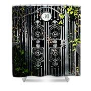 Door 30 Shower Curtain