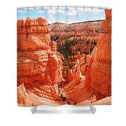 Down Into Bryce Shower Curtain
