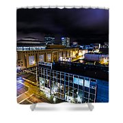 Downtown Anchorage Shower Curtain