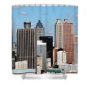 Downtown Atlanta Shower Curtain