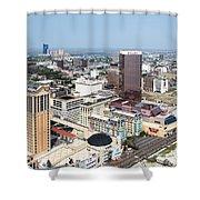 Downtown Atlantic City Shower Curtain