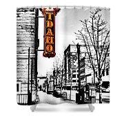 Downtown Boise Shower Curtain
