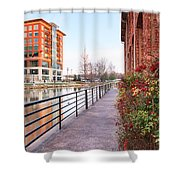 Downtown Greenville Sc Shower Curtain