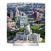 Downtown Providence Rhode Island Shower Curtain
