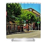 Downtown Pullman Washington Shower Curtain