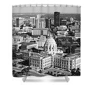 Downtown Skyline St. Paul Minnesota Shower Curtain