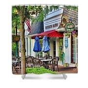 Downtown Worthington Shower Curtain