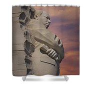 Dr. Martin Luther King Jr Memorial Shower Curtain