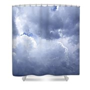 Dramatic Cloudy Sky Shower Curtain