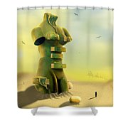 Drawers Shower Curtain