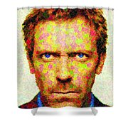 Dr. House - Maple Leaves Shower Curtain