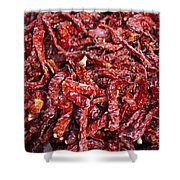 Dried Chilli Shower Curtain