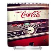 Drink Coca Cola Shower Curtain