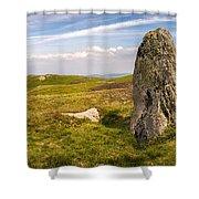 Druids Stone Circle Shower Curtain