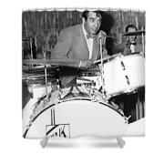 Drummer Gene Krupa Shower Curtain