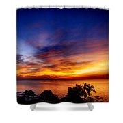 Dry Season-sunset Shower Curtain