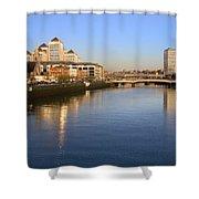 Dublin At Dawn Shower Curtain