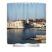 Dubrovnik In Croatia Shower Curtain