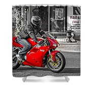 Ducati 748 Shower Curtain