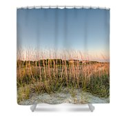 Dunes To Lighthouse Shower Curtain