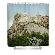 Dusk At Mount Rushmore Shower Curtain